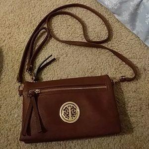Crossbody Wristlet Handbag/Clutch